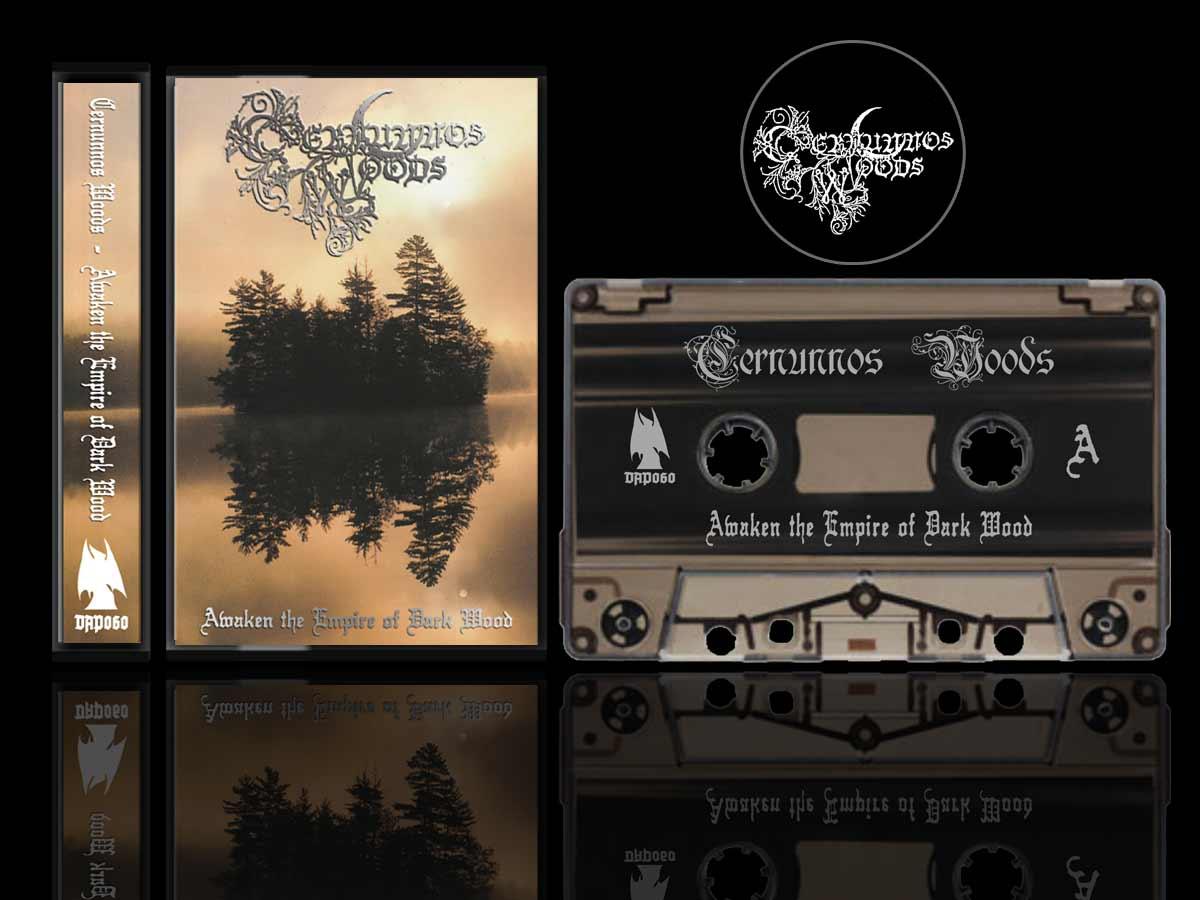 Cernunnos Woods - Awaken the Empire of Dark Wood Cassette dungeon synth